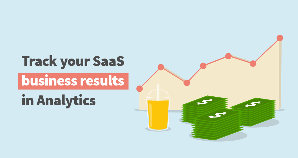 track saas business in google analytics