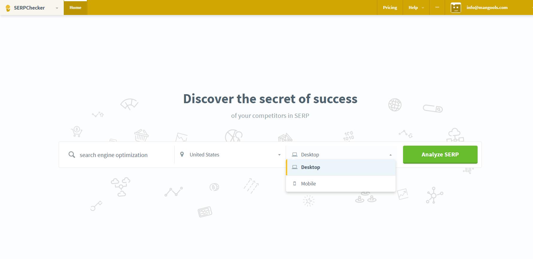 serpchecker seo analysis guide
