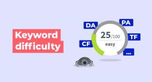 keyword difficulty illustration