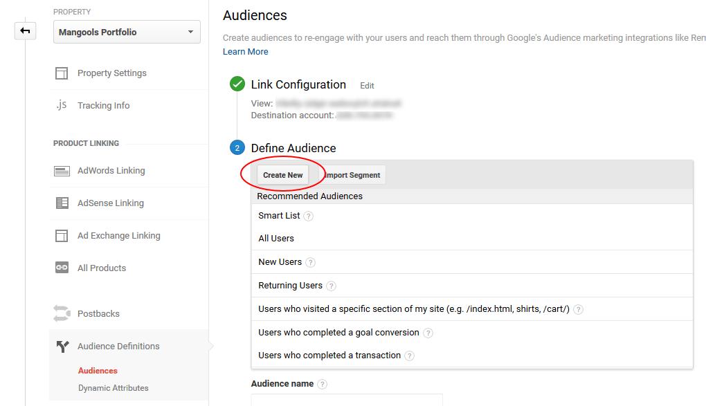 remarketing list in google adwords