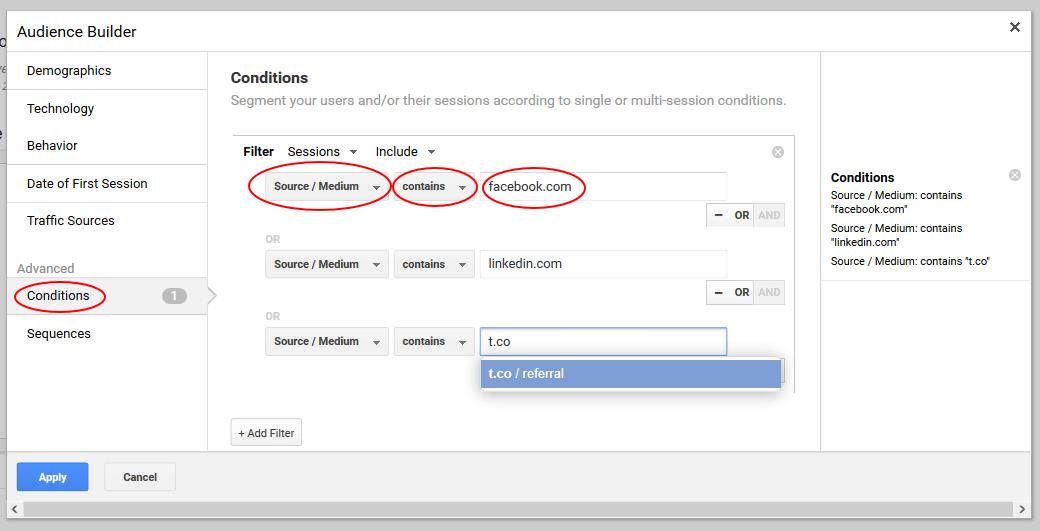source based remarketing lists