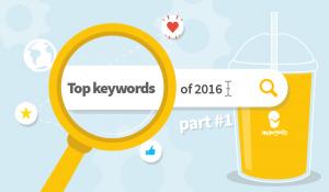 Top keywords of 2016