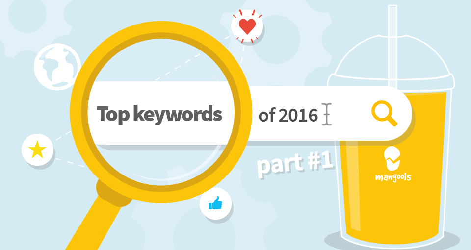 Top keywords of 2016