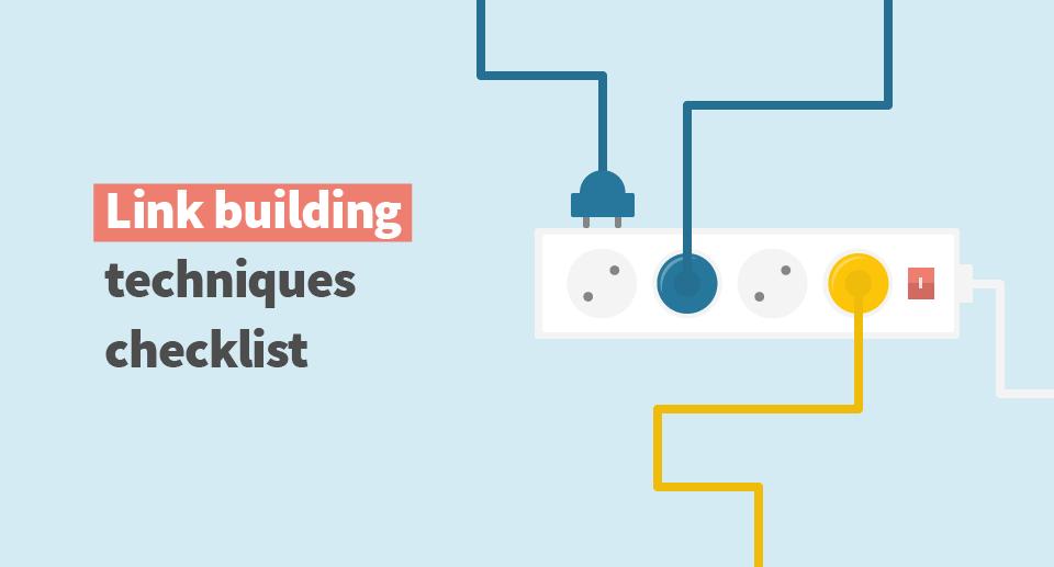 50+ link building techniques checklist - mangools blog
