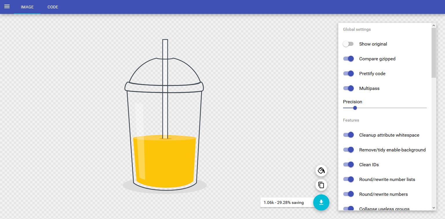 compress and optimize images for website blog