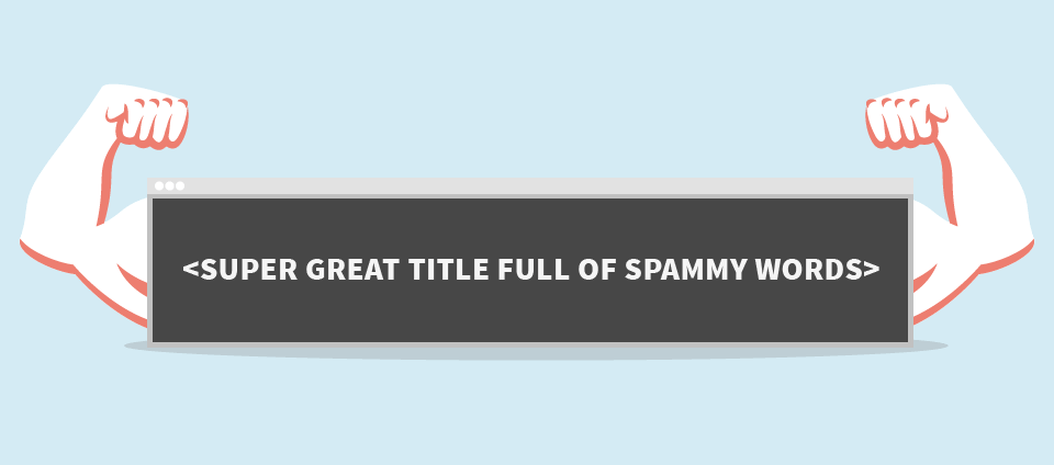 seo spam title tags