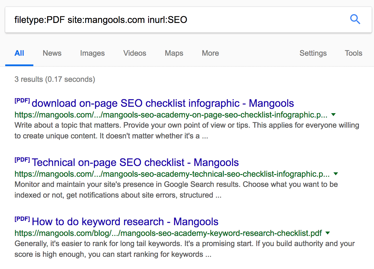 The Most Useful Google Search Operators for SEO | Mangools