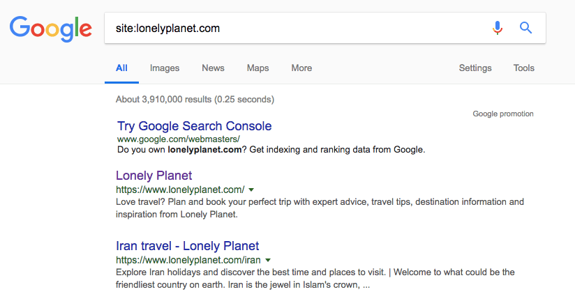 search your brand mentions