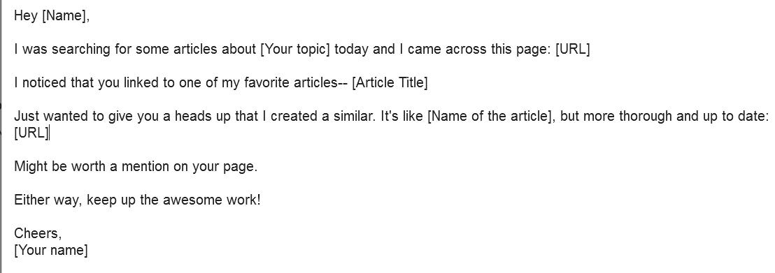 Outreach Emails