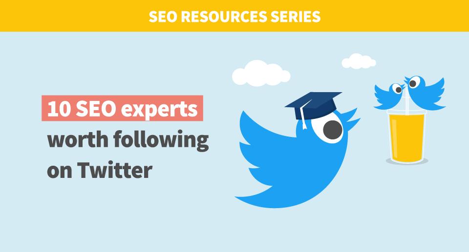 SEO experts Twitter