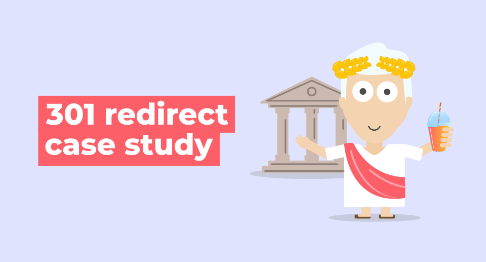 301 redirect case study
