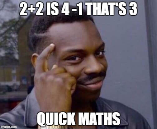 quick maths picture