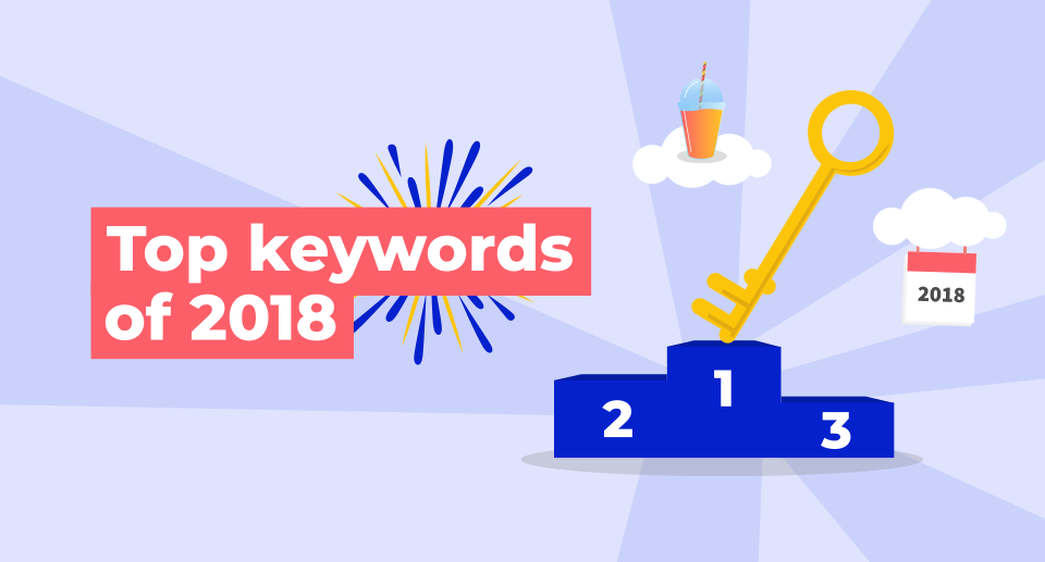 top keywords of 2018