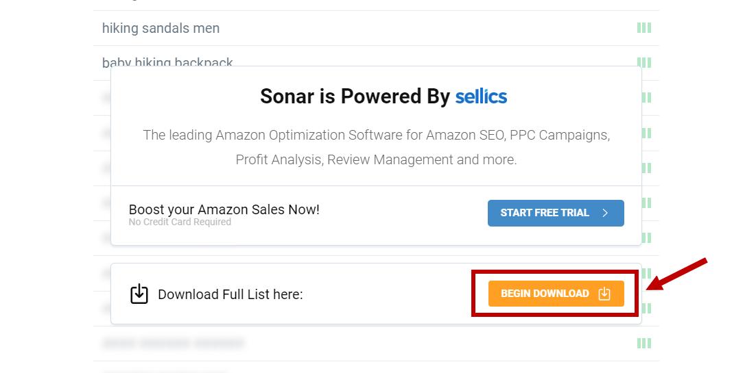 sonar download