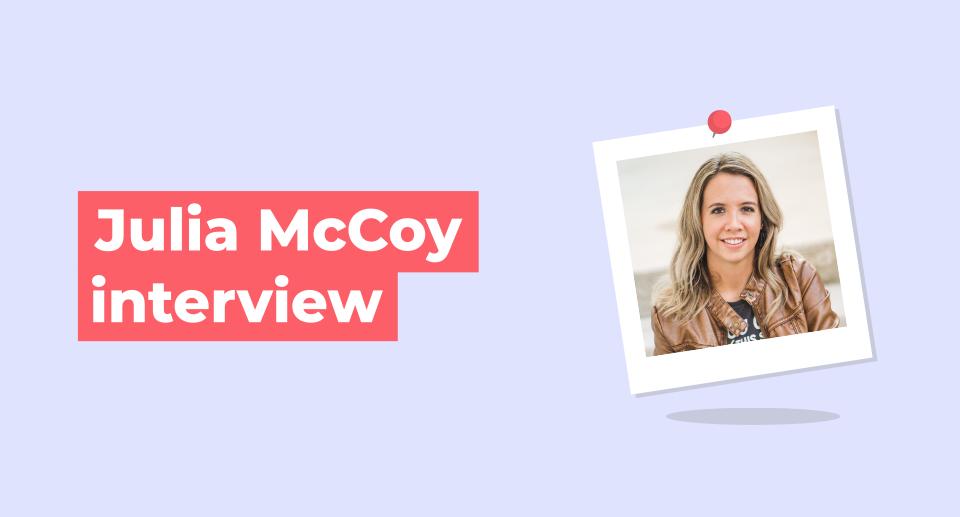 julia mccoy interview
